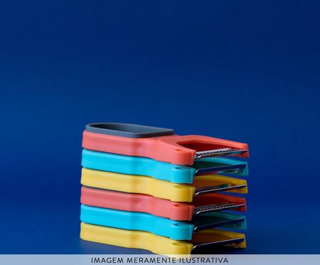 Jogo de Descascadores em Inox Roosevelt - Colorido | WestwingNow