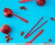 Pegador para Salada West Side - Vermelho, Vermelho   WestwingNow