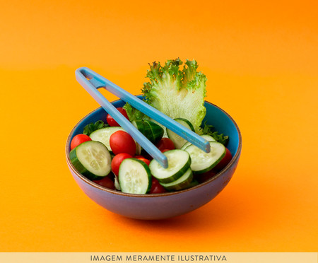 Pegador para Salada de Silicone West Side - Azul | WestwingNow