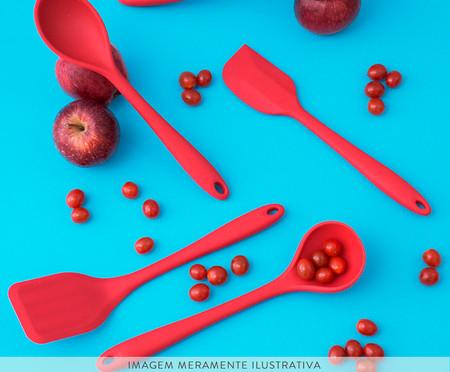 Colher de Silicone East Side - Vermelha | WestwingNow