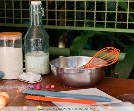 Batedor de Ovos em Silicone Intense - Laranja | WestwingNow