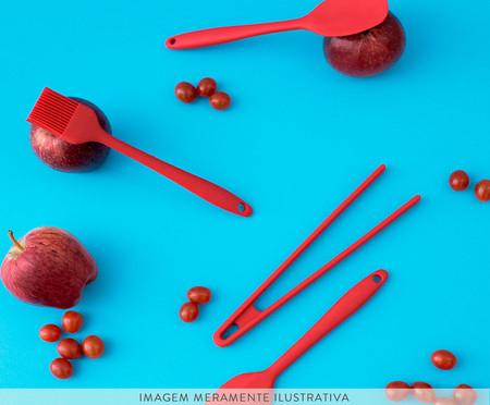Pincel Culinário de Silicone Harlem - Vermelho | WestwingNow