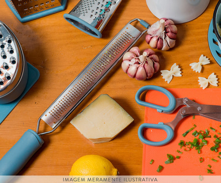 Ralador Régua Fino em Inox Coney - Azul | WestwingNow
