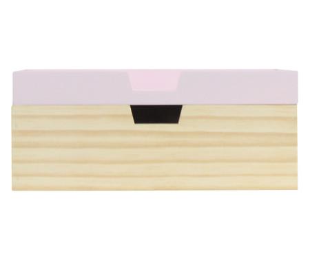 Caixa Organizadora Olsen Rosa Queimado - 28x12cm | WestwingNow