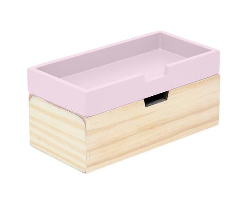 Caixa Organizadora Olsen Rosa Queimado - 28x12cm, Rosa Queimado   WestwingNow