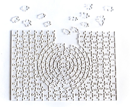 Quebra-Cabeça Transparente Misto - 243 Peças | WestwingNow