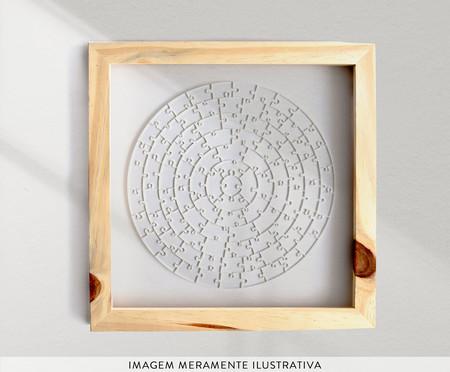 Quebra-Cabeça Transparente Redondo Insano - 91 Peças | WestwingNow