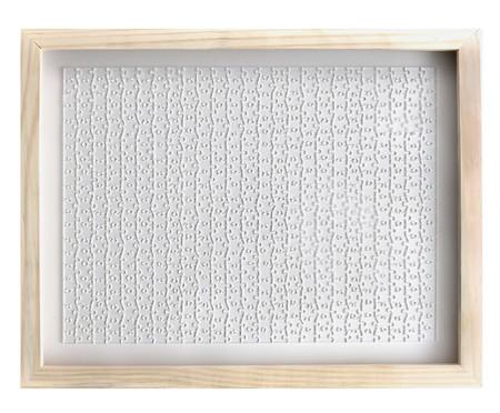 Jogo de Quebra-Cabeça Transparente  Expert com Moldura Madeira | WestwingNow