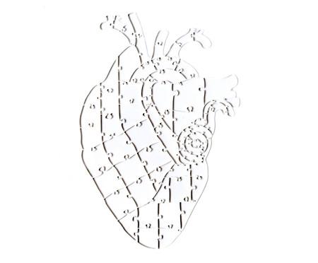 Quebra-Cabeça Transparente Heart - 65 Peças | WestwingNow