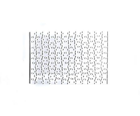 Jogo de Quebra-Cabeça Transparente  Difícil com Moldura Madeira | WestwingNow