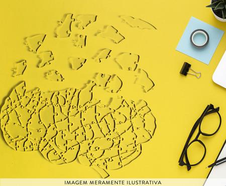 Quebra-Cabeça Transparente Cérebro - 102 Peças | WestwingNow