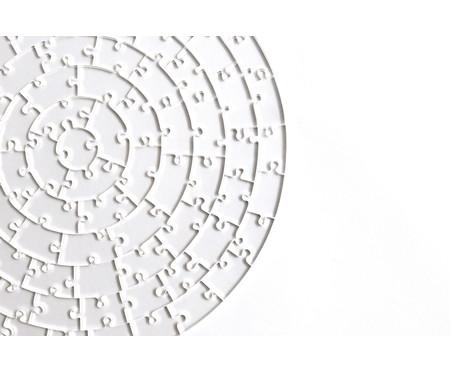 Jogo de Quebra-Cabeça Transparente  Insano com Moldura Preta | WestwingNow
