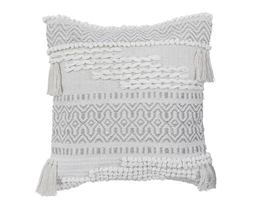 Capa de Almofada Handmade Selene, Branco | WestwingNow