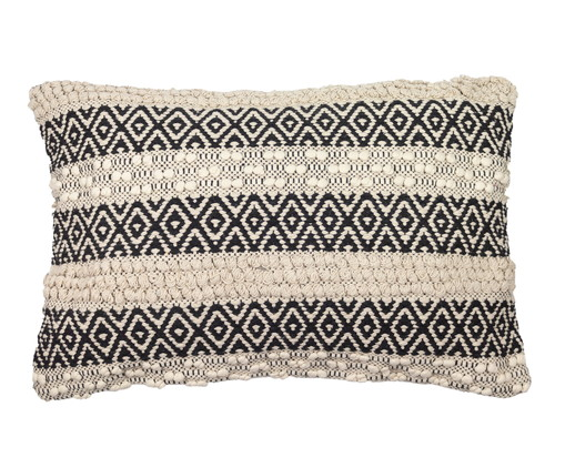 Capa de Almofada Handmade Facco, Branco | WestwingNow
