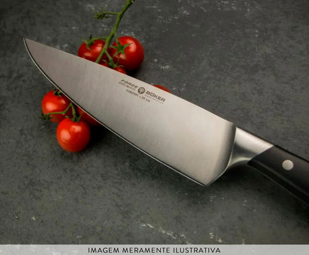 Faca do Chef Böker Forge - Preta   WestwingNow