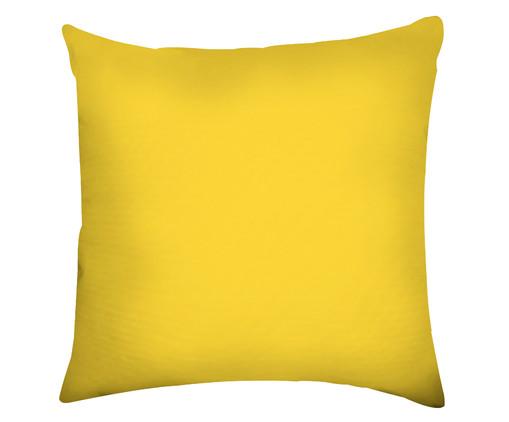 Capa de Almofada em Linho Misto Zachary, Amarelo | WestwingNow