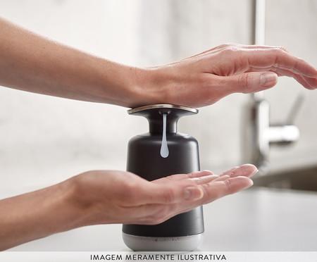 Dispenser de Sabonete Líquido Davis - Preto e Cinza | WestwingNow