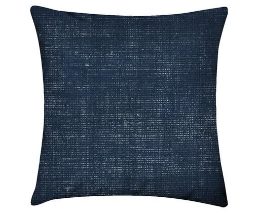 Capa de Almofada em Linho Misto Jenson, Azul | WestwingNow