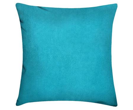Capa de Almofada em Linho Misto Lauren - Azul Água | WestwingNow