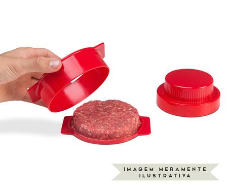 Molde para Hambúrguer Recheado Mondrian - Vermelho | WestwingNow