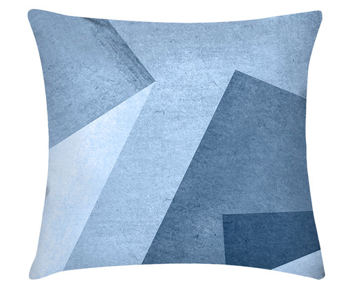 Capa de Almofada em Linho Misto Callum, Azul | WestwingNow