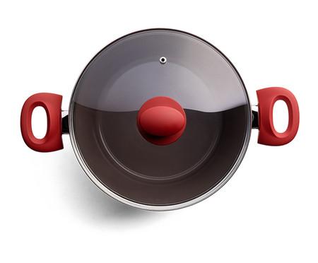Jogo de Panelas de Indução Manet - Vermelho | WestwingNow