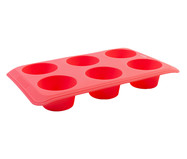 Forma de Silicone com 6 Divisões Trevi - Rosa | WestwingNow