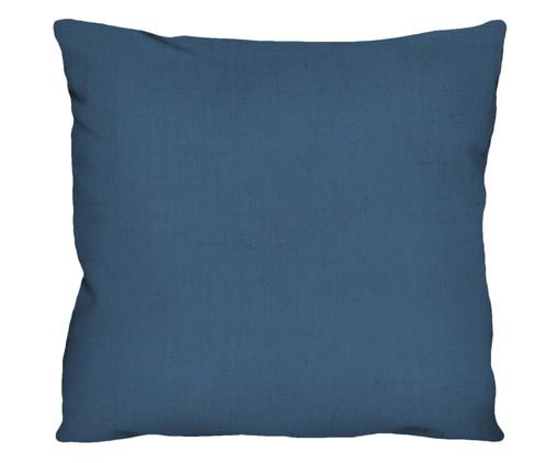 Capa de Almofada em Linho Misto Holly - Azul, Azul | WestwingNow