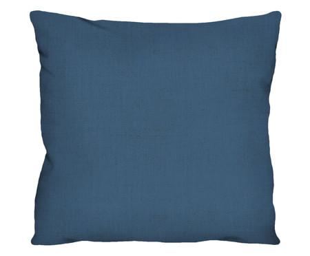 Capa de Almofada em Linho Misto Holly - Azul | WestwingNow