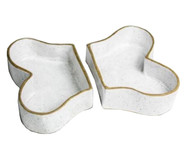 Conjunto em Cerâmica para Cachorro Bone - Branco | WestwingNow