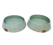 Conjunto de Potes em Cerâmica para Cachorro Gouvea - Azul | WestwingNow