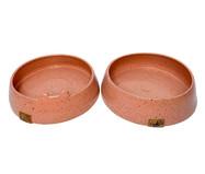 Conjunto de Potes em Cerâmica para Cachorro Gouvea - Rosa | WestwingNow