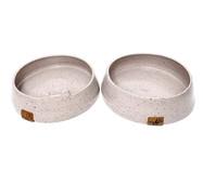 Conjunto de Potes em Cerâmica para Cachorro Gouvea - Branco | WestwingNow