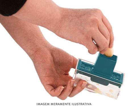 Picador e Fatiador de Alho Alfa - Azul   WestwingNow