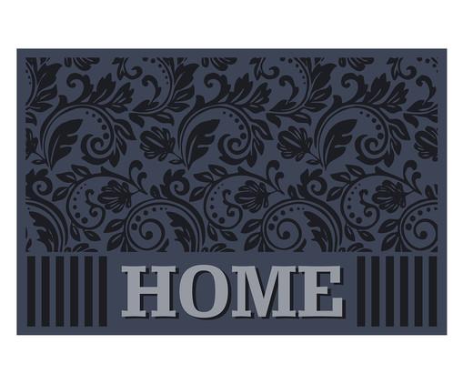Tapete Clean Kasa Bem-Vindo Home Arabesco, Azul | WestwingNow