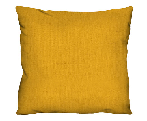 Capa de Almofada em Linho Misto Holly - Amarelo, Amarelo | WestwingNow