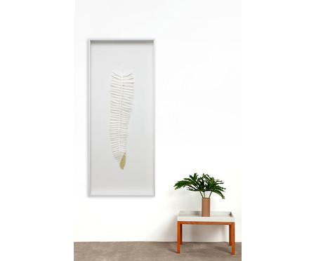 Quadro com Vidro Leaves Eli - 51x121cm | WestwingNow