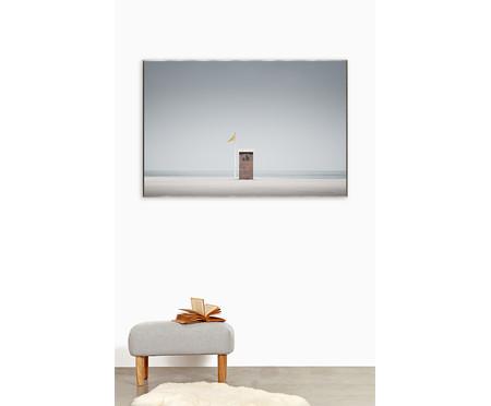 Quadro com Vidro Cabine Praia -151x101cm   WestwingNow