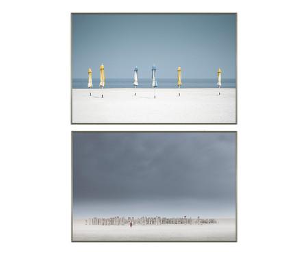 Quadro com Vidro Paisagem Caitin - 41x61   WestwingNow