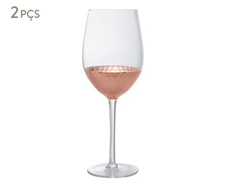 Jogo de Taças para Vinho Acobreado - 550ml | WestwingNow