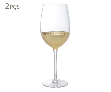 Jogo de Taças para Vinho Dourado - 550ml | WestwingNow