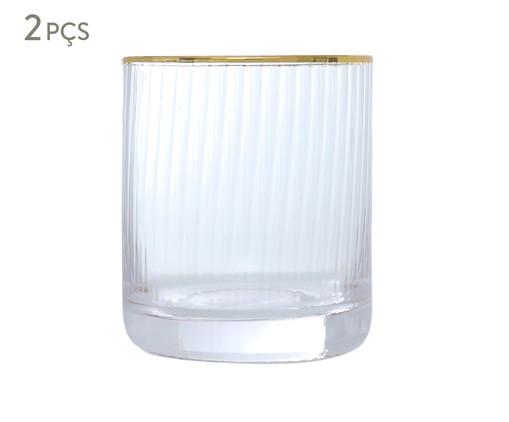 Jogo de Copos - Clear Gold, Transparente   WestwingNow