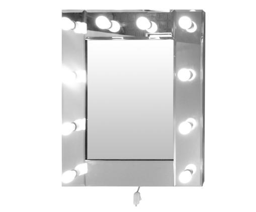 Espelho de Parede Camarim Bivolt - 65X75cm, Prata / Metálico | WestwingNow