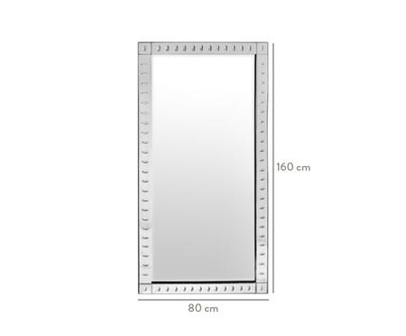 Espelho de Parede em Cristal Oliva - 80X160cm | WestwingNow