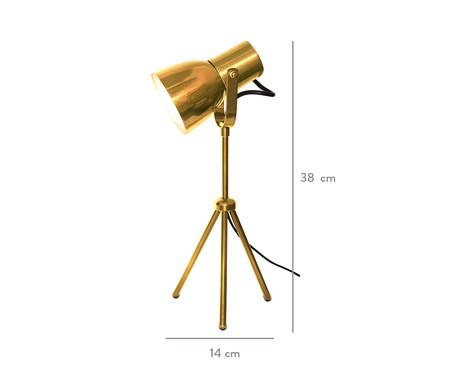 Luminária de Mesa Dale  Dourado  - Bivolt   WestwingNow