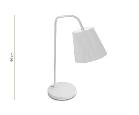 Luminária de Mesa Lidia Branco  - Bivolt | WestwingNow
