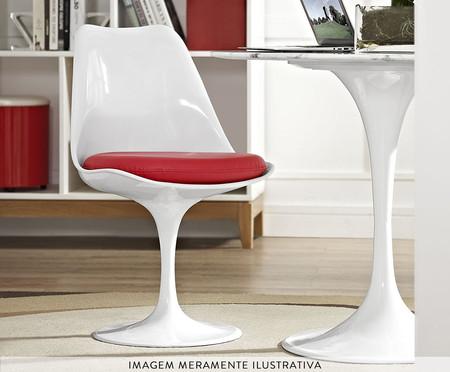 Cadeira Saarinen - Branca e Vermelha | WestwingNow