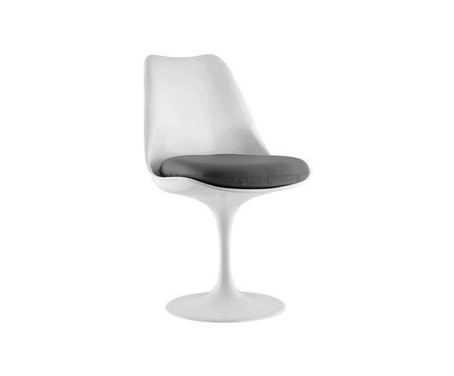 Cadeira Saarinen - Branca e Cinza, Branco | WestwingNow