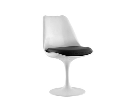 Cadeira Saarinen - Branca e Preta | WestwingNow