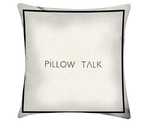Capa de Almofada em Linho Misto Pillow Talk, Colorido | WestwingNow